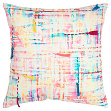 "Rizzy Home 20"" X 20"" Abstract Design Pillowdown Filled"