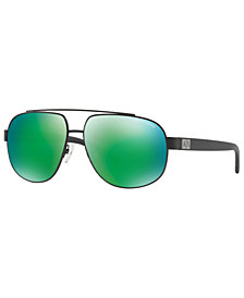 Armani Exchange Polarized Sunglasses, AX2019S 60