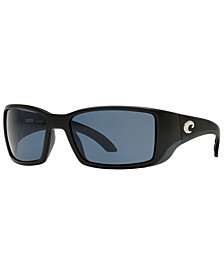 Costa Del Mar Polarized Sunglasses, BLACKFIN POLARIZED 60P