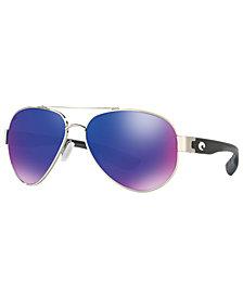 Costa Del Mar Polarized Sunglasses, SOUTH POINT 59P