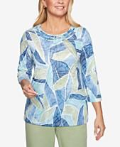 24a79b53485e0 Alfred Dunner Summer Tops For Women  Shop Summer Tops For Women - Macy s