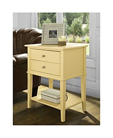 Cottage Hill Accent Table With 2 Drawers