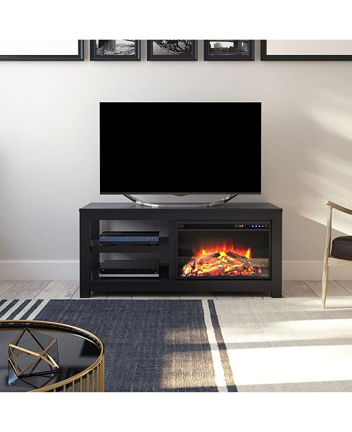 best service 3cb23 50dd0 Ira Electric Fireplace Tv Stand For Tvs Up To 55 Inches