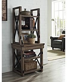 Broadmore Audio Stand Bookshelf