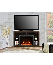 Ameriwood Home Rio Electric Corner Fireplace For Tvs Up To 50 Inches