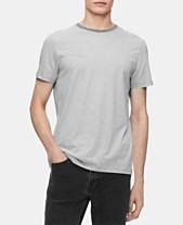 0ba3c323 Calvin Klein Men's Feeder Striped Pima Cotton T-Shirt