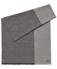 Hugo Boss Men's Pinstripe Scarf