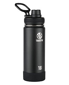Takeya Actives 18oz Insulated Stainless Steel Water Bottle with Insulated Spout Lid