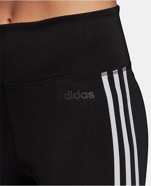 fb56630f7f7e3 adidas Design 2 Move ClimaLite® High-Rise 3-Stripe Leggings ...