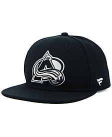 NHL Authentic Headwear Colorado Avalanche Black DUB Fitted Cap