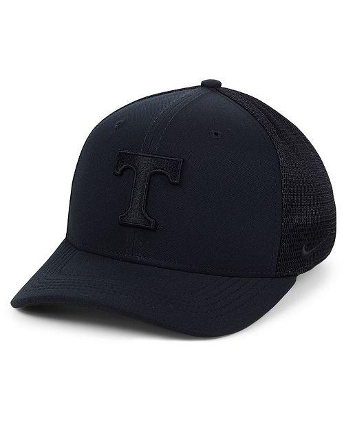 buy online 93356 1dcea ... Nike Tennessee Volunteers Aerobill Black Swoosh Cap ...