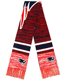 Forever Collectibles New England Patriots Knit Color Blend Big Logo Scarf