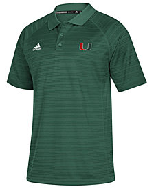 adidas Men's Miami Hurricanes Select Polo