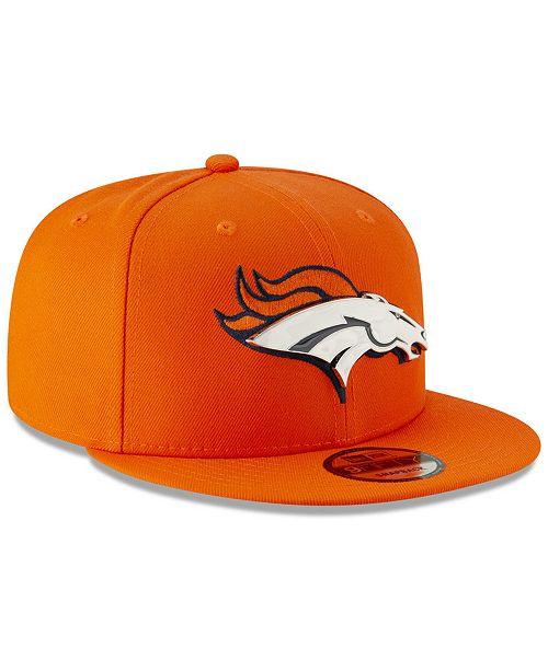 26839cbd9 New Era Denver Broncos Metal Thread 9FIFTY Snapback Cap - Sports Fan ...