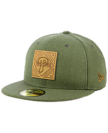 New Era Philadelphia Phillies Leather Patch 59FIFTY-FITTED Cap