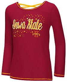 Colosseum Iowa State Cyclones Crosscross Long Sleeve T-Shirt, Girls (4-16)