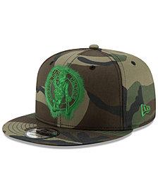 New Era Boston Celtics Overspray 9FIFTY Snapback Cap