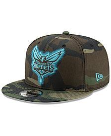 New Era Charlotte Hornets Overspray 9FIFTY Snapback Cap