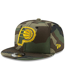 New Era Indiana Pacers Overspray 9FIFTY Snapback Cap