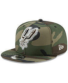 New Era San Antonio Spurs Overspray 9FIFTY Snapback Cap