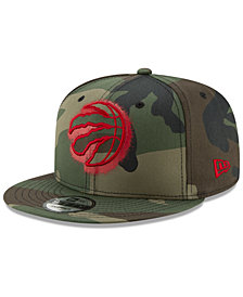 New Era Toronto Raptors Overspray 9FIFTY Snapback Cap