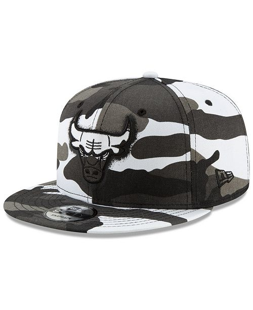 New Era Chicago Bulls Overspray 9FIFTY Snapback Cap
