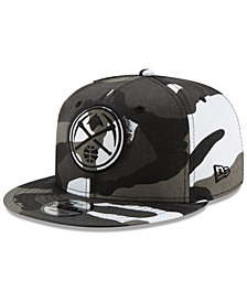 New Era Denver Nuggets Overspray 9FIFTY Snapback Cap