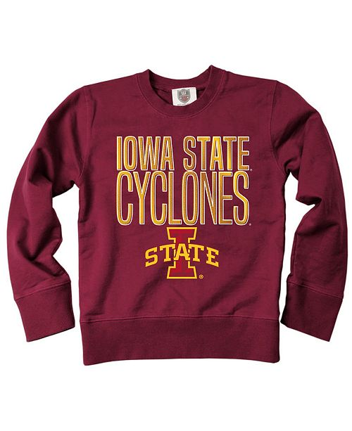 Wes & Willy Iowa State Cyclones Crew Neck Sweatshirt, Toddler Boys (2T-4T)