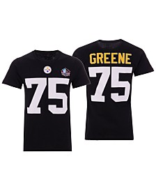 Majestic Men's Joe Greene Pittsburgh Steelers Hall of Fame Eligible Receiver Triple Peak T-Shirt