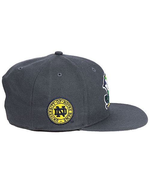 616275350eeb1 ...  47 Brand Notre Dame Fighting Irish Sure Shot CAPTAIN Snapback Cap     ...