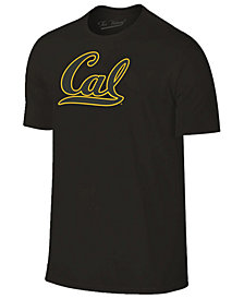 Champion Men's California Golden Bears Black Out Dual Blend T-Shirt