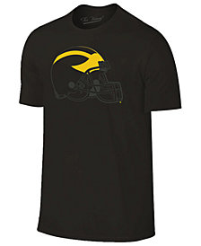 Champion Men's Michigan Wolverines Black Out Dual Blend T-Shirt