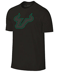 Champion Men's South Florida Bulls Black Out Dual Blend T-Shirt