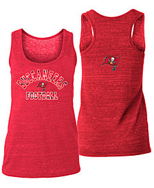 5th & Ocean Women's Tampa Bay Buccaneers Racerback Tank
