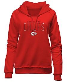 5th & Ocean Women's Kansas City Chiefs Fleece Pullover Hoodie