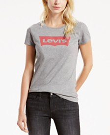 Levi's® Cotton Batwing Perfect Graphic Logo T-Shirt