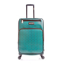 "DKNY Signature Gems 25"" Spinner Suitcase"