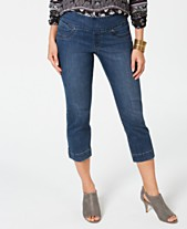 7398ee53a29 Style   Co Pull-On Capri Jeans