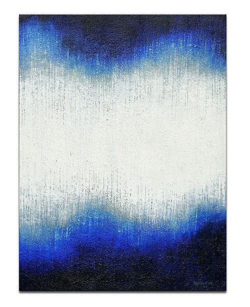 "Ready2HangArt 'Tides' Abstract Canvas Wall Art, 20x30"""