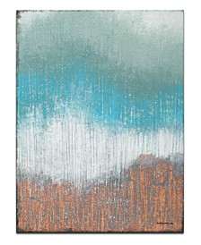 'High Point II' Abstract Canvas Wall Art, 40x30""