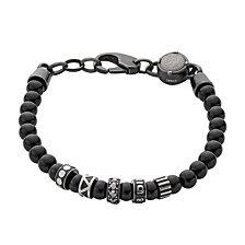 Diesel Men's Etnik Black Metal Bracelet