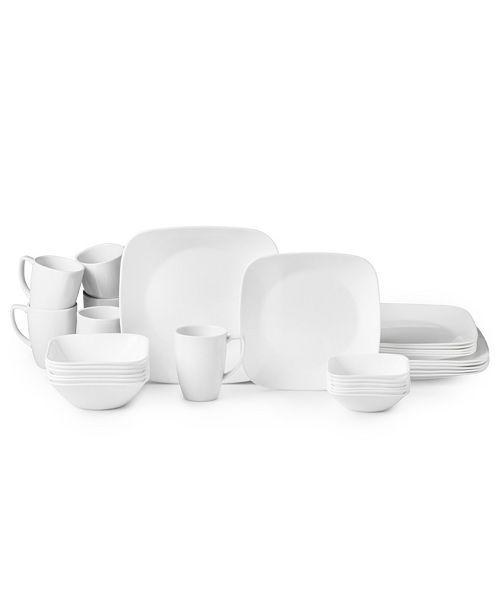 Corelle Vivid White 30pc Set