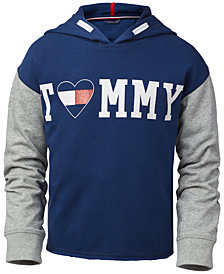 Tommy Hilfiger Big Girls Colorblocked Hoodie