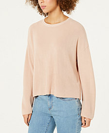 Eileen Fisher Tencel Crewneck Sweater