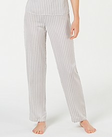 INC Satin Striped Pajama Pants, Created for Macy's