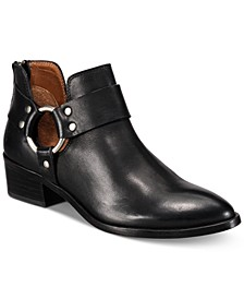 Women's Ray Harness Leather Booties