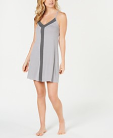 Alfani Ultra Soft Printed Nightgown, Created for Macy's