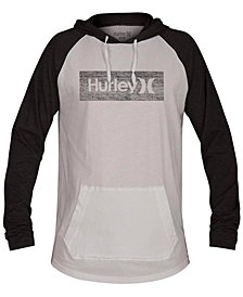 Hurley Men's One and Only Box Inspired Hooded Knit T-shirt