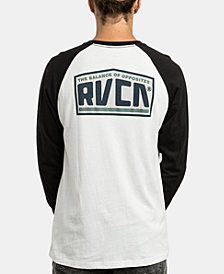 RVCA Men's Roadside Raglan Graphic Shirt