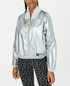 Puma TZ Metallic Bomber Jacket